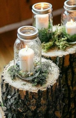 30 Charming Rustic Centerpieces That Will Fill Up Your Tables 10