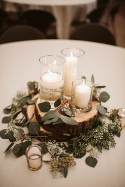 30 Charming Rustic Centerpieces That Will Fill Up Your Tables 14