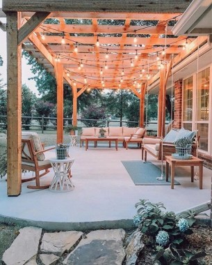 30 Inspiring Ways To Update Your Porch And Patio 22
