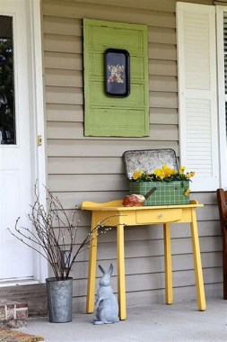 31 Best Ways To Sprucing Up Your Front Porch For Spring 30