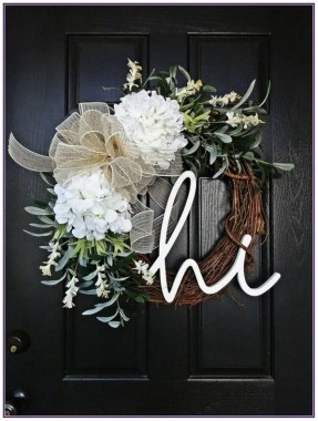 33 Beautiful Spring Wreath To Make It Yourself At Home 17