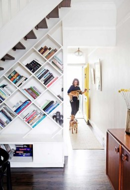 34 Creative And Amazing Ways To Use The Space Under Your Stairs 21