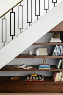 34 Creative And Amazing Ways To Use The Space Under Your Stairs 29