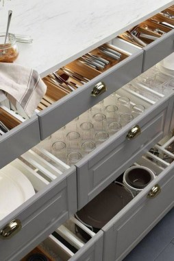 34 Creative Kitchen Organization Ideas Using IKEA Items 28