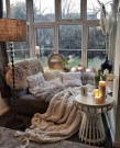 35 Cozy Nook Ideas To Sip On A Cup Of Tea And Read A Good Book 37