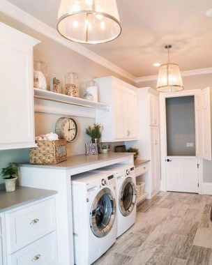 35 Laundry Room Design Ideas That Will Make You Want To Do Laundry 17