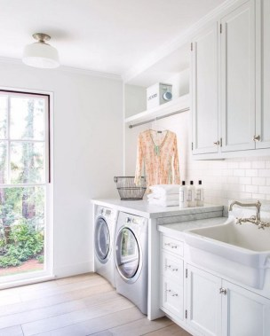 35 Laundry Room Design Ideas That Will Make You Want To Do Laundry 36