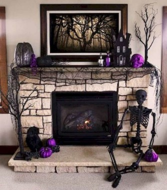 36 Beautiful Fireplace Decorating Ideas To Copy For Your Own 13