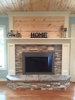 36 Beautiful Fireplace Decorating Ideas To Copy For Your Own 31