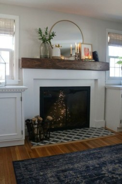 36 Beautiful Fireplace Decorating Ideas To Copy For Your Own 34