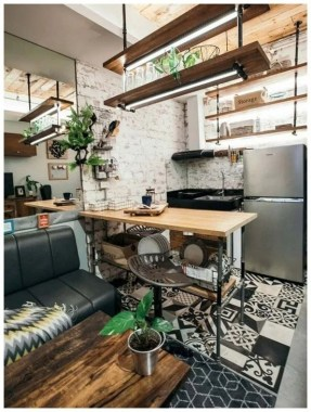 37 Small City Loft With Comfortable Style To Inspire You 08