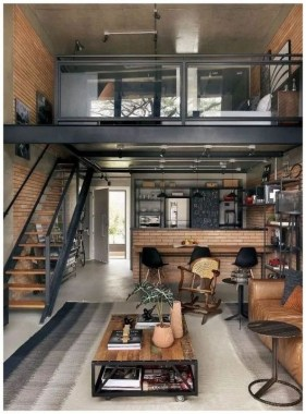 37 Small City Loft With Comfortable Style To Inspire You 14