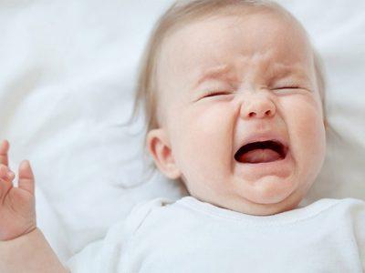 البكاء عند الرضع