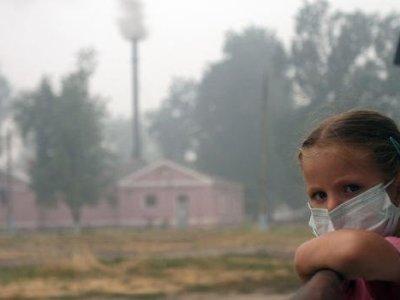 تأثير العواصف الترابية على صحة الاطفال