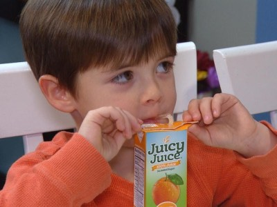 العصير المعلب