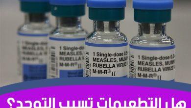 Photo of علاقة التطعيمات بالتوحد عند الاطفال