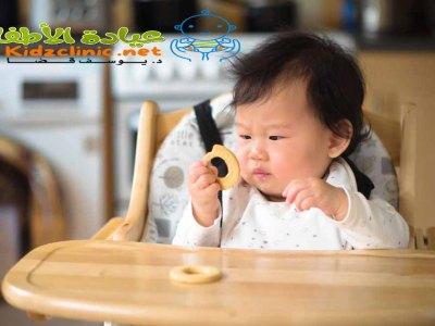 البسكويت للاطفال الرضع