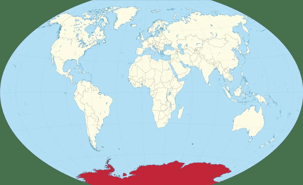 Antartica location