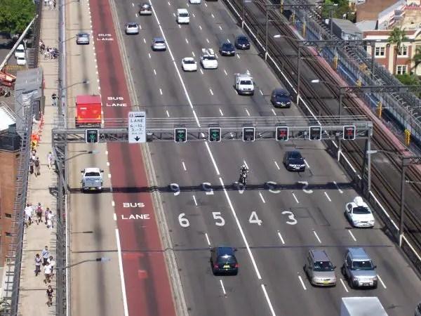 Sydney Harbour Bridge Lanes