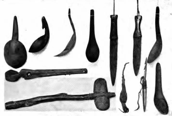 Native Americans tools