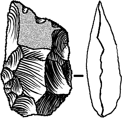 Cleaver - stone age tools