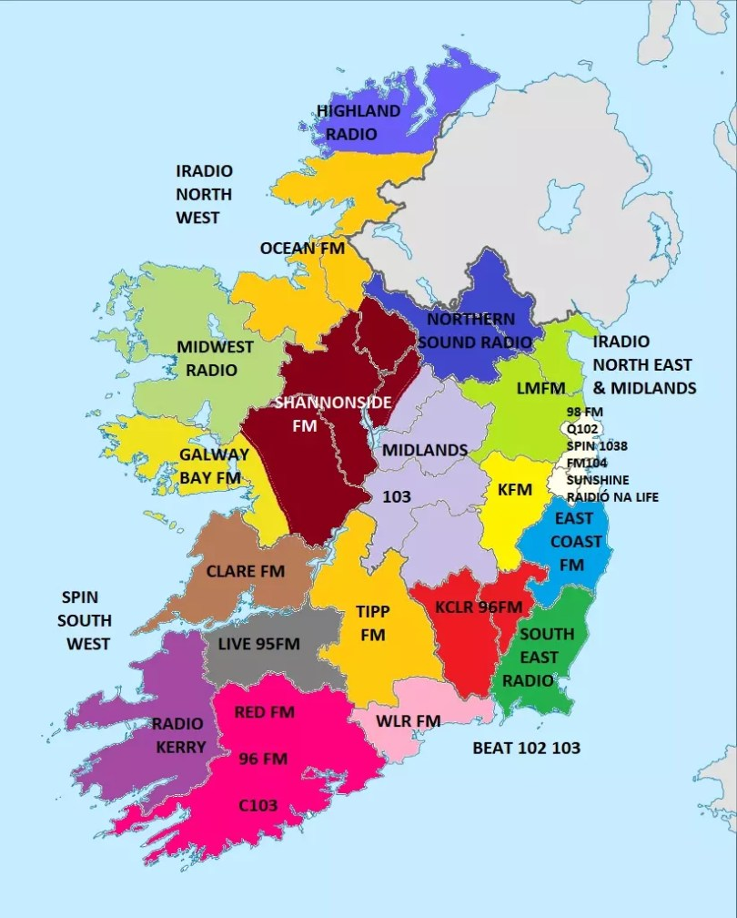 Map Of Ireland 32.Map Of Ireland 32 Counties