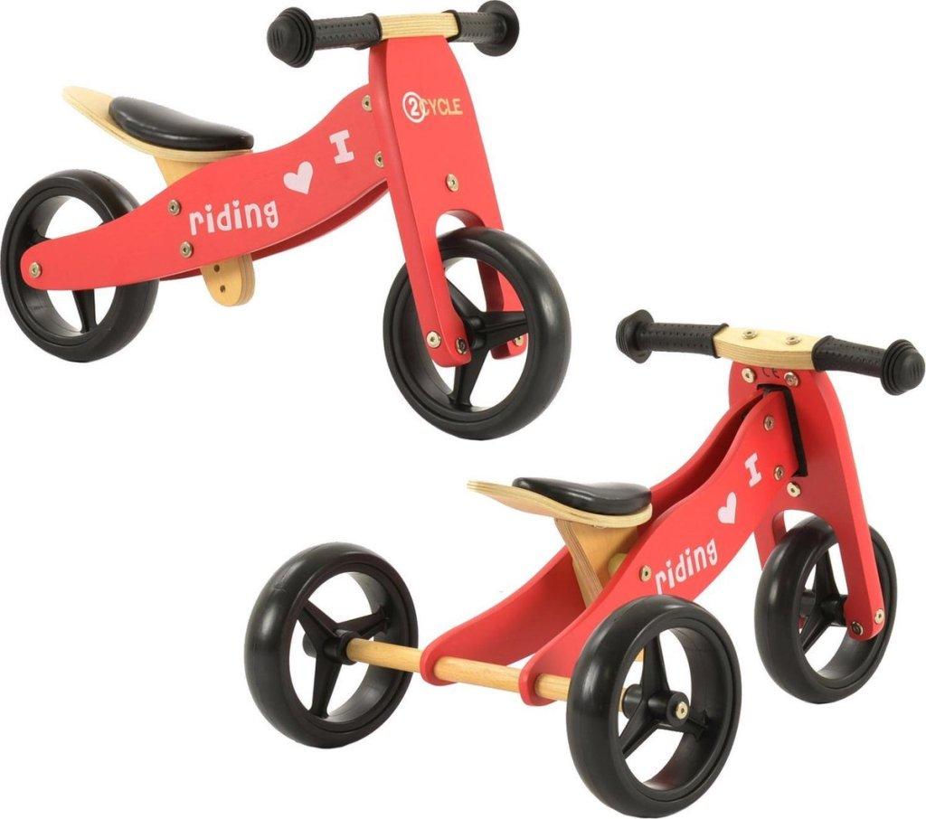 2-in-1 loopfiets van 2cycle