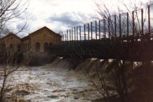 Hochwasser im Februar 1990