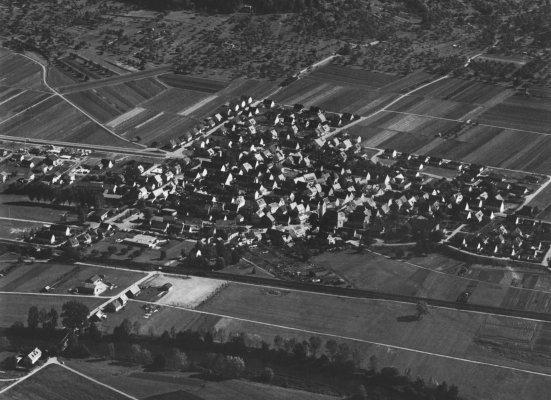 Luftbild Kiebingen 1979