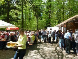 Kiebinger Waldhütte am 01. Mai