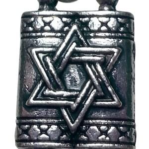 Judaica Jewelry Torah Charm Necklace Detailed2