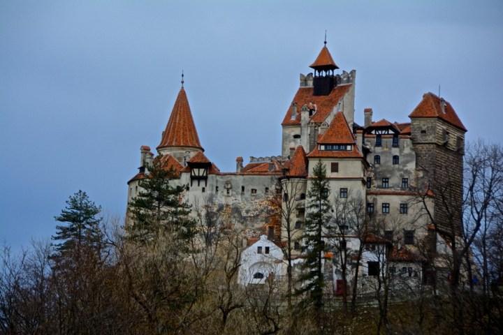 Zamek Drakuli w Transylwanii