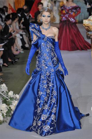 Dior blue dress