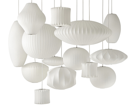 George Nelson bubble lamps