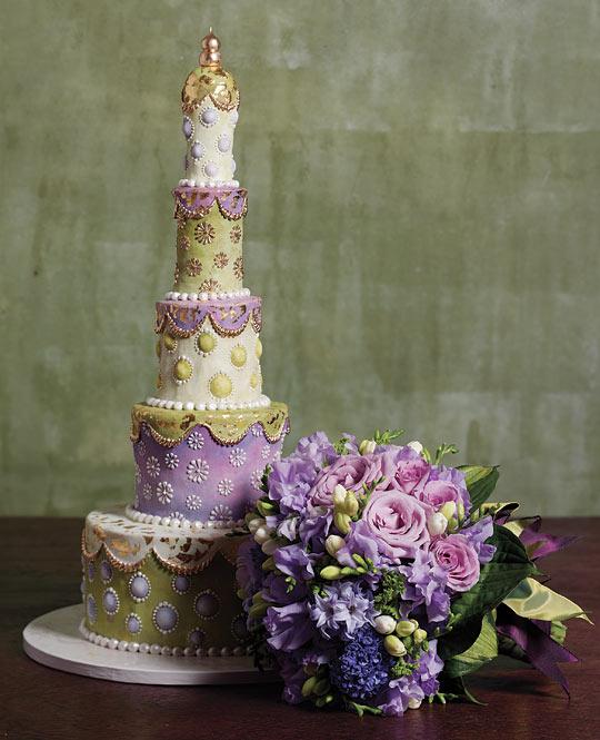 Wedding cake by Margaret Braun  Kristen Kieffer