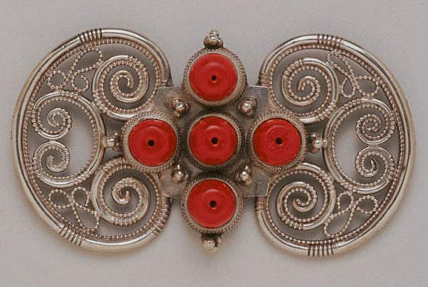 tibetan_mans_hair_ornament_c1930