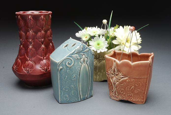 Kristen Kieffer Flower Vessels