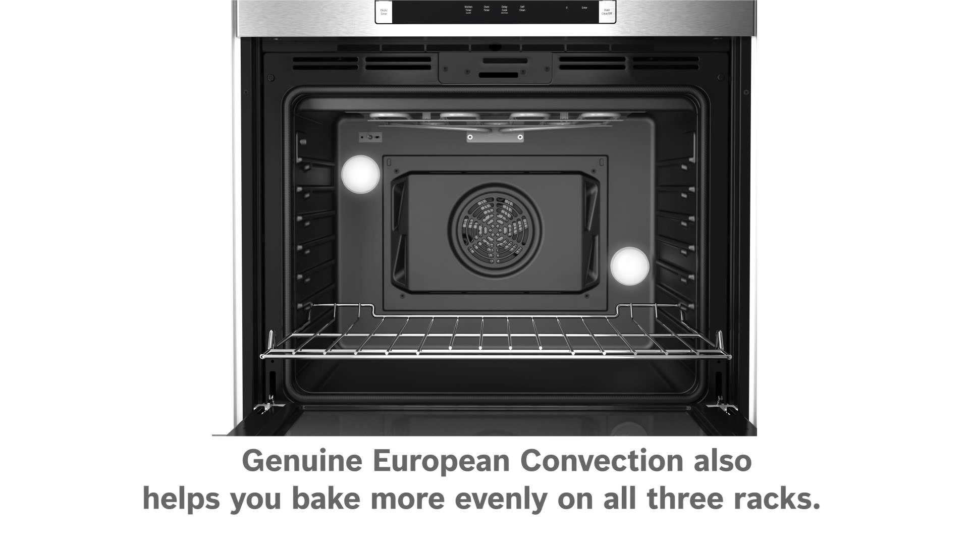 Bosch European Convection Ovens