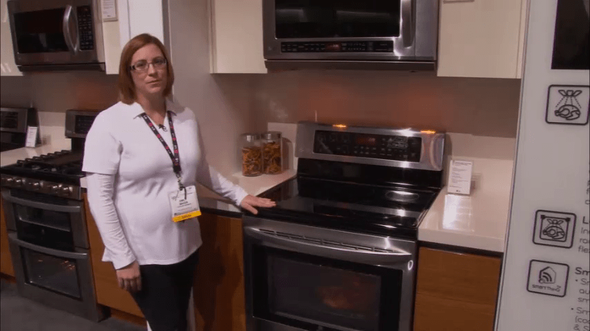 LG Appliances: Freestanding Range and Microwave