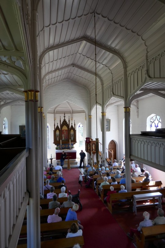 Kirche Siebenbäumen innen