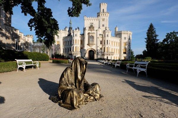 Hluboka Castle Czech Republic Guardians Of Time