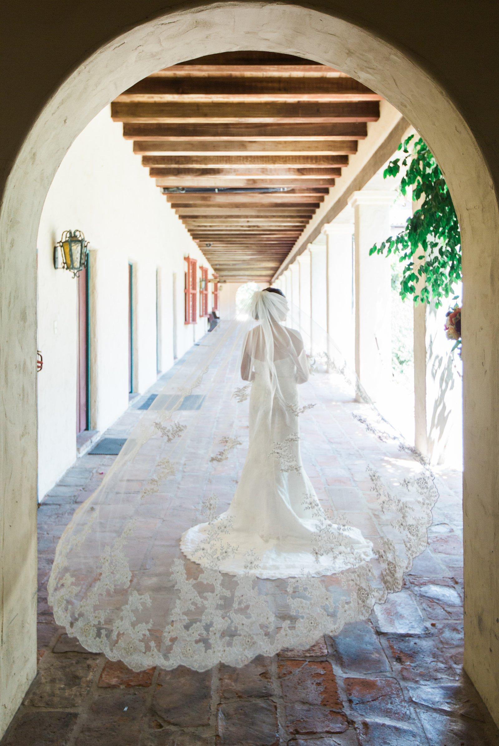 Santa Barbara Mission Wedding  Kiel Rucker Photography