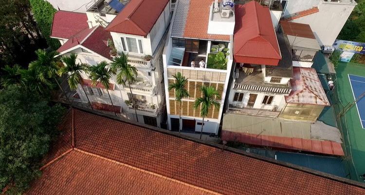 Nhà Thân thiện #3 ở Hồ Tây, Hà Nội – GA+