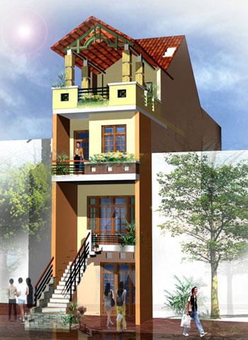 mattien11 Tạo thẩm mỹ cho mặt tiền ngôi nhà