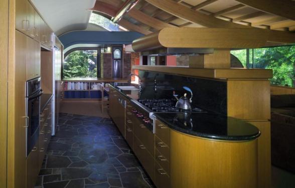 Wilkinson House – Ngôi nhà trong những tán cây thiết kế bởi KTS Robert Harvey Oshatz