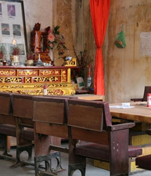 Năm 1962, di tích đã được Bộ Văn hóa (nay là Bộ Văn hóa - Thể thao và Du lịch) xếp hạng là di tích lịch sử văn hóa. Bên trong là di ảnh của các thế hệ dòng họ Hoàng nhà Tổng đốc Hoàng Cao Khải.