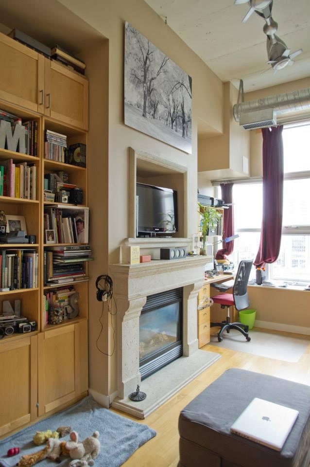 Thiết kế căn hộ lỗi thời trở nên hiện đại với phong cách industrial