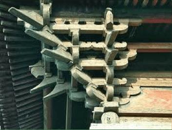 Để mở rộng diện tích hiên, người Hán sử dụng đấu củng