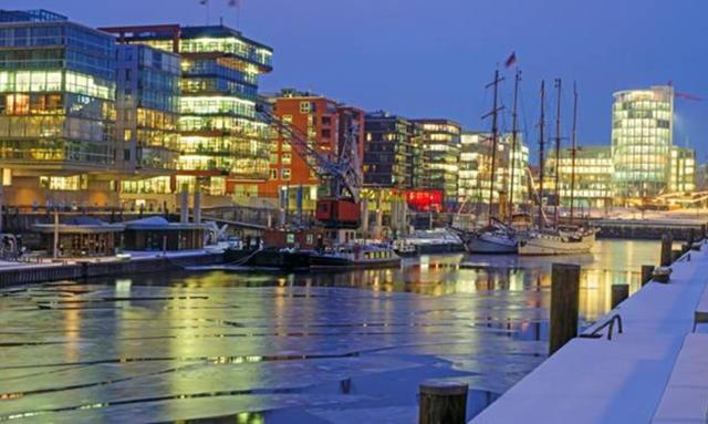 HafenCity giúp các cư dân khu vực ven biển an toàn hơn với phương pháp chống lũ của nó.