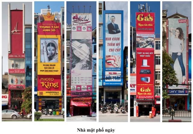 Tác phẩm Nhà mặt phố - Hs Nguyễn Thế Sơn